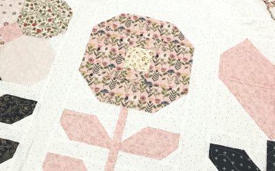 Flower Market Sew Along for Flower 4