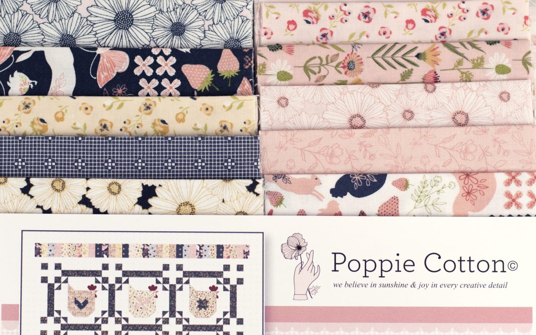 Virtual Quilt Market with Poppie Cotton