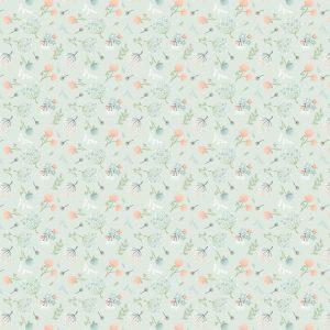 woodland floral mint