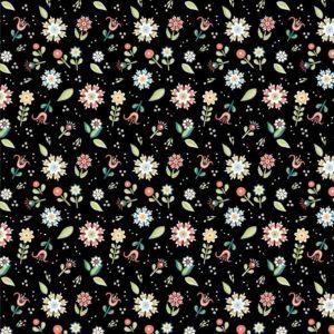 Pickin Daisies-black
