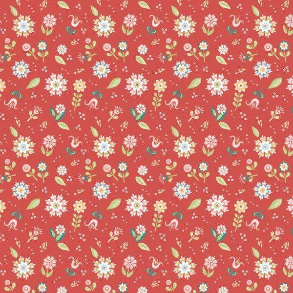 Pickin Daisies-red