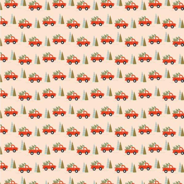 Trucks & Trees-Cream