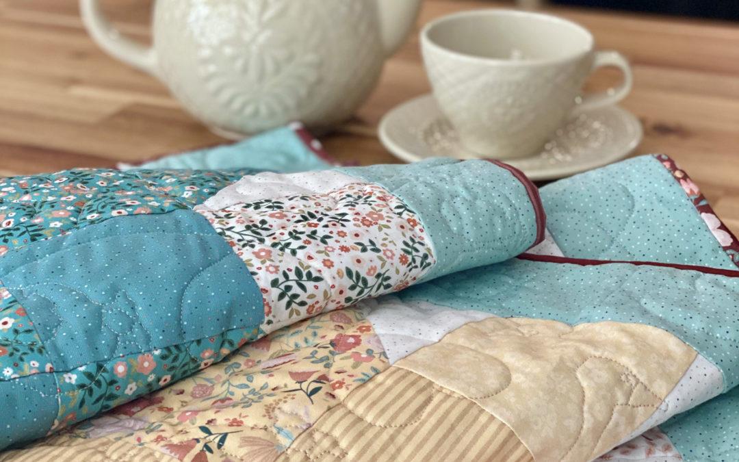 Goose Creek Garden Fabric Tour with Blue Ribbon Designs