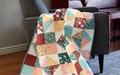 Goose Creek Garden Fabric Tour with A Bright Corner