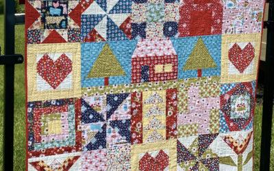 Farmgirls Unite Fabric Tour with Blue Ribbon Designs