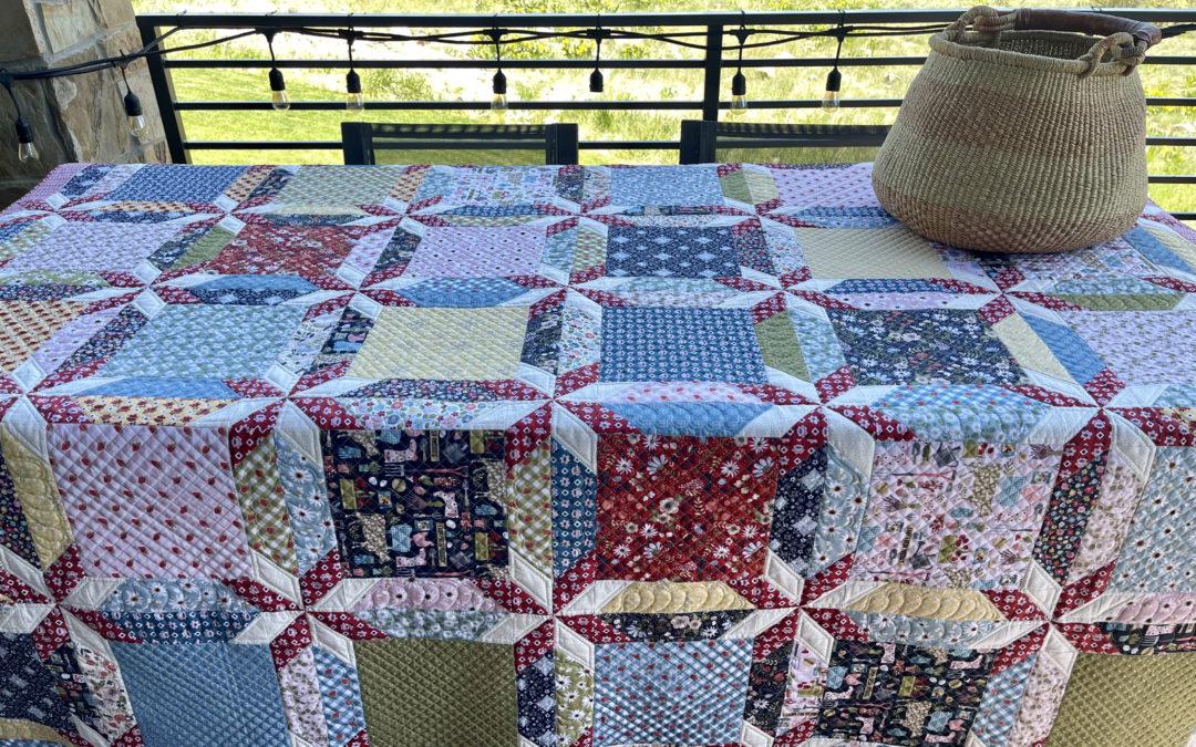 Farmgirls Unite Fabric Tour with Nanny Goat Designs